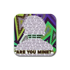 Are You Mine Drink Coasters 4 Pack (square) by typewriter