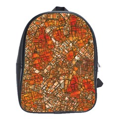 Fantasy City Maps 3 School Bags(large)  by MoreColorsinLife