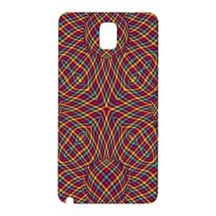 Trippy Tartan Samsung Galaxy Note 3 N9005 Hardshell Back Case
