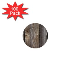 Wood Fence 1  Mini Buttons (100 Pack)