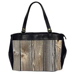 Wood Fence Office Handbags (2 Sides)