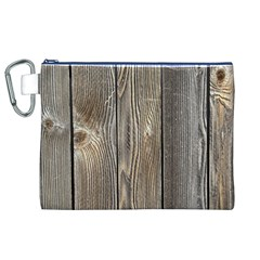Wood Fence Canvas Cosmetic Bag (xl)
