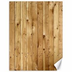 Light Wood Fence Canvas 18  X 24