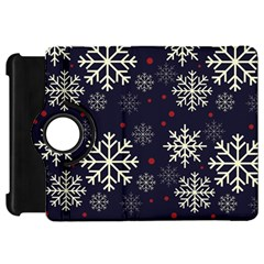 Snowflake Kindle Fire Hd Flip 360 Case by Kathrinlegg