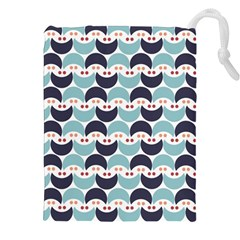 Moon Pattern Drawstring Pouches (XXL) by Kathrinlegg