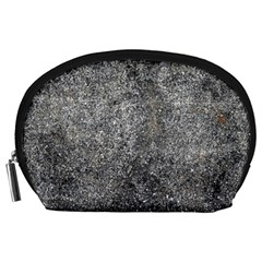 Black Mica Accessory Pouches (large)  by trendistuff
