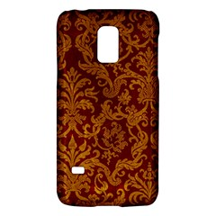 Royal Red And Gold Galaxy S5 Mini by trendistuff