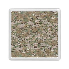 Camo Woodland Faded Memory Card Reader (square)  by trendistuff