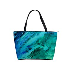 Shades Of Blue Shoulder Handbags by trendistuff