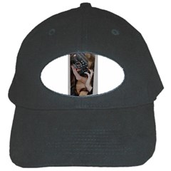 Chipped Black Cap by cutter