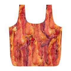 Bacon Full Print Recycle Bags (l)  by trendistuff