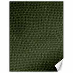 Green Reptile Skin Canvas 18  X 24