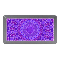 Purple Mandala Memory Card Reader (mini) by LovelyDesigns4U