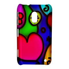 Colorful Modern Love 2 Nokia Lumia 620 by MoreColorsinLife