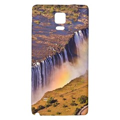 Waterfall Africa Zambia Galaxy Note 4 Back Case by trendistuff