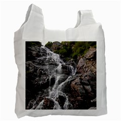 Mountain Waterfall Recycle Bag (one Side) by trendistuff