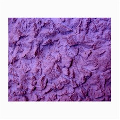 Purple Wall Background Small Glasses Cloth (2 Side)