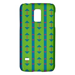 Arrows And Stripes Pattern			samsung Galaxy S5 Mini Hardshell Case by LalyLauraFLM