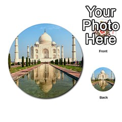 Taj Mahal Multi Purpose Cards (round)  by trendistuff