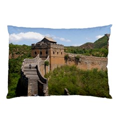Great Wall Of China 3 Pillow Cases (two Sides)