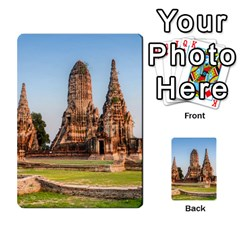 Chaiwatthanaram Multi Purpose Cards (rectangle)  by trendistuff