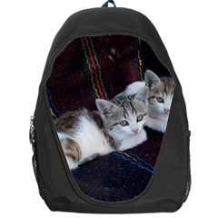 Kitty Twins Backpack Bag by trendistuff