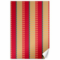 Stripes And Other Shapes			canvas 24  X 36  by LalyLauraFLM