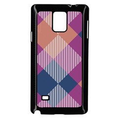 Argyle Variation			samsung Galaxy Note 4 Case (black) by LalyLauraFLM