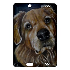 Selfie Of A Golden Retriever Kindle Fire Hd (2013) Hardshell Case by timelessartoncanvas