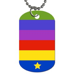 Miss Bow Dog Tag (two Sided)