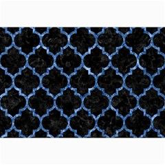 Tile1 Black Marble & Blue Marble (r) Collage 12  X 18  by trendistuff
