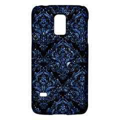 Damask1 Black Marble & Blue Marble Samsung Galaxy S5 Mini Hardshell Case  by trendistuff