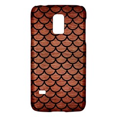 Scales1 Black Marble & Copper Brushed Metal (r) Samsung Galaxy S5 Mini Hardshell Case  by trendistuff