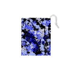 Abstract #7 Drawstring Pouches (xs)  by Uniqued