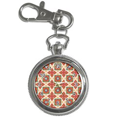 Floral Pattern  			key Chain Watch by LalyLauraFLM