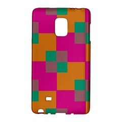Squares    			samsung Galaxy Note Edge Hardshell Case by LalyLauraFLM