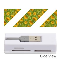 Indian Floral Pattern Stripes Memory Card Reader (stick)  by dflcprints