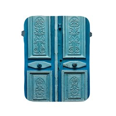 Turquoise Oriental Old Door Apple Ipad 2/3/4 Protective Soft Cases