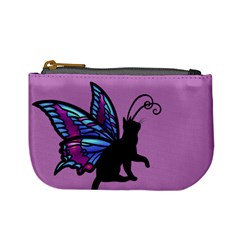 Kitty Wings Coin Change Purse