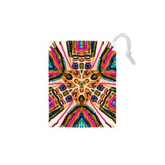Ethnic You Collecition Drawstring Pouches (xs)  by SugaPlumsEmporium
