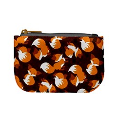 Curious Maple Fox (dark) Coin Change Purse
