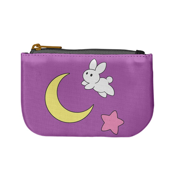 The Bunny Jumped Over the Moon Coin Change Purse