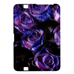 Purple Glitter Roses Valentine Love Kindle Fire Hd 8 9  by yoursparklingshop