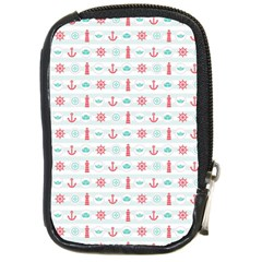 Seamless Nautical Pattern Compact Camera Cases by TastefulDesigns