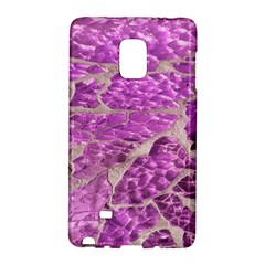 Festive Chic Pink Glitter Stone Galaxy Note Edge by yoursparklingshop