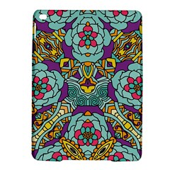 Mariager   Bold Blue,purple And Yellow Flower Design Apple Ipad Air 2 Hardshell Case by Zandiepants