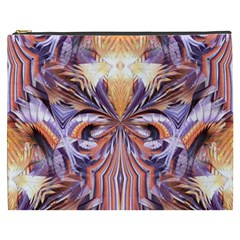 Fire Goddess Abstract Modern Digital Art  Cosmetic Bag (xxxl)  by CrypticFragmentsDesign
