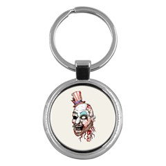 Captain Zombie Key Chains (round)  by lvbart