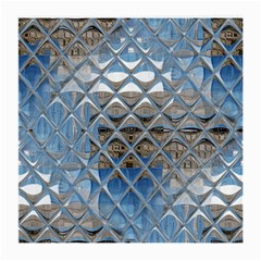 Mirrored Glass Tile Urban Industrial Medium Glasses Cloth by CrypticFragmentsDesign