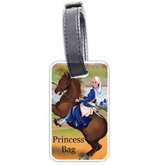 Princess Luggage Tag (one Side) by harjasnoorcreations